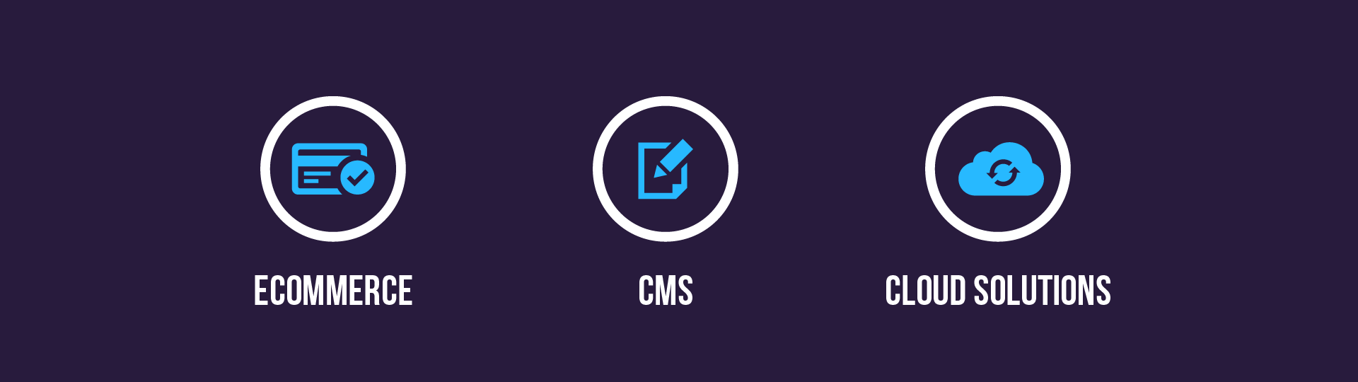 Ecommerce cms cloud solutions